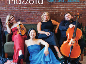 "Neave Trio releases ""Celebrating Piazzolla"" on Azica Records"