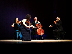 Chiara Quartet receives glowing New York Times review for Brahms By Heart at Met Museum