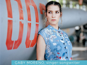 Get ready for Gaby Moreno on QChamberStream, Sunday June 14