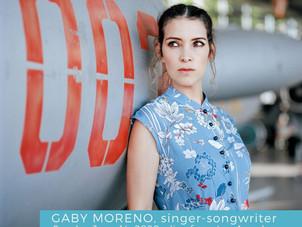 Get ready for Gaby Moreno on QChamberStream, Sunday June 14