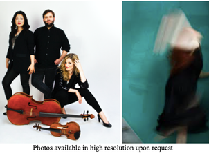 """Neave Trio in Two Outdoor Performances presented by Walnut Hill School for the Arts' """"A Sum"""