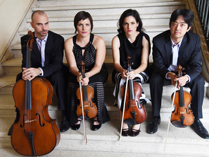 Jupiter Quartet is presented on Austin Chamber Music Center's new virtual concert series