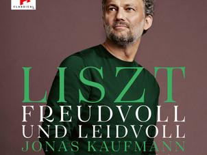 Sony Classical Releases Jonas Kaufmann's New Liszt Album on September 17, 2021