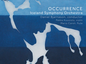 Sono Luminus Releases Occurrence - Iceland Symphony Orchestra conducted by Daníel Bjarnason