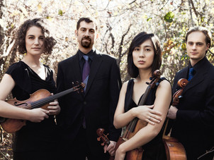 "Chiara String Quartet featured in Houston Chronicle for ""By Heart"" performances"