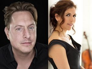 Inbal Segev & Jason Vieaux make duo debut at Bargemusic Dec 18
