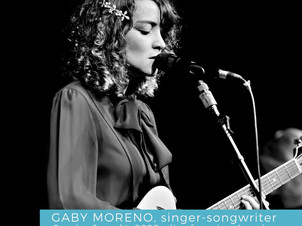 See Who's Talking About Gaby Moreno's QChamberStream on Sunday June 14