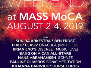 Aug 2-4: Daily Schedule Announced for Bang on a Can's new festival LOUD Weekend at MASS MoCA