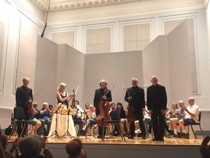American String Quartet premieres of Robert Sirota's American Pilgrimage