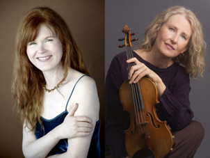 Stenberg|Cahill Duo Gives Virtual Premieres by Mary Watkins and Ronald Bruce Smith