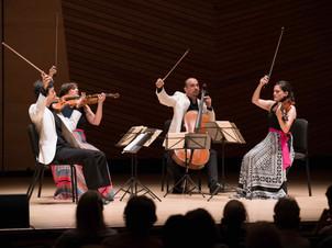 Jupiter String Quartet Gives Virtual Concert with Jasper String Quartet
