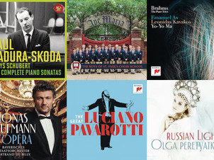Sony Masterworks Announces US Classical Releases for September