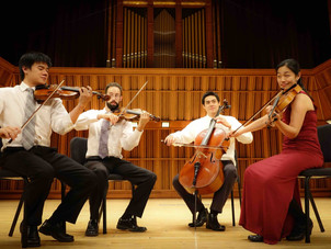 Telegraph Quartet Gives Virtual Concert Presented by Crowden Music Center Featuring Music by Britten