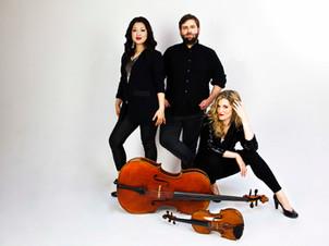 Neave Trio Performs on Outdoor Concert Presented by the Newport Music Festival