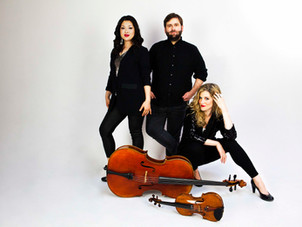 Neave Trio performs in person in Nashua at The First Church, presented by First Music Concert Series