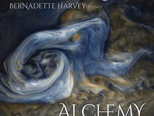 "May 10: Jupiter Quartet releases new album ""Alchemy"" with pianist Bernadette Harvey on Mar"