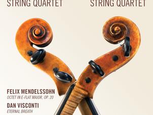Jupiter and Jasper Quartets Release New Collaborative Album - Mendelssohn, Visconti, and Golijov
