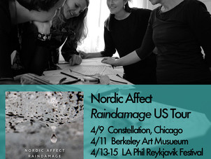 Iceland's Nordic Affect embark on first US tour