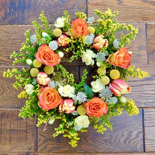 "Divalogical 12"" 100% biodegradable wreath base (pack of 2)"