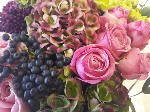 Diva Bouquets Hatbox Flowers