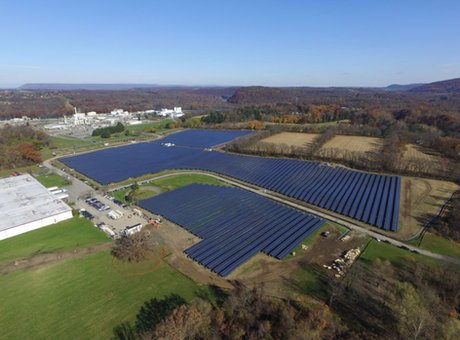 New Jerseys Largest Solar Field holds grand opening