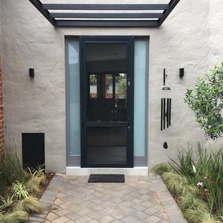 Security screen front door