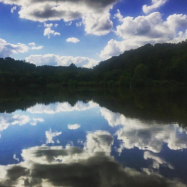From a hike at Fox Run Lake in Ohio last
