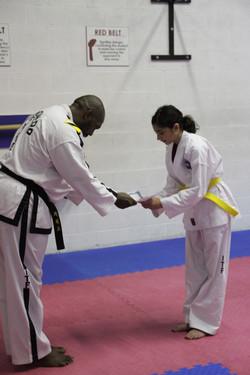Komul Pattu - Receiving Certificates