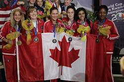 Ladies Team - 3 X Bronze Medalist