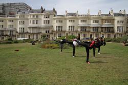 Ladies Team Practice - YopCha Jirugi