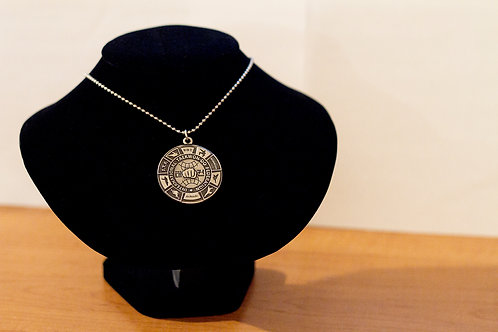 I.T.F. Turtle Shell Pendant (with chain)