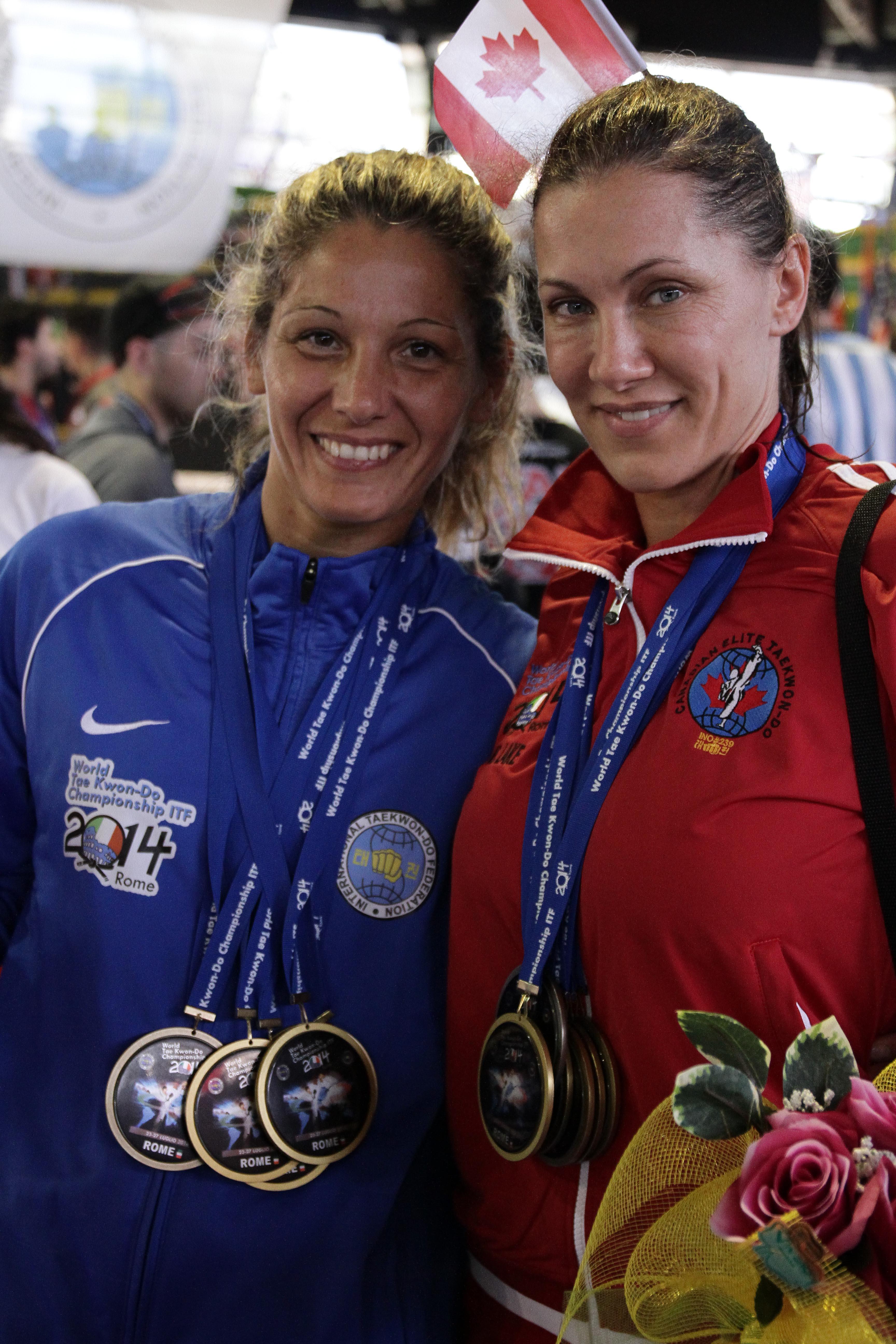 Ms. Lake & Ms. Italy