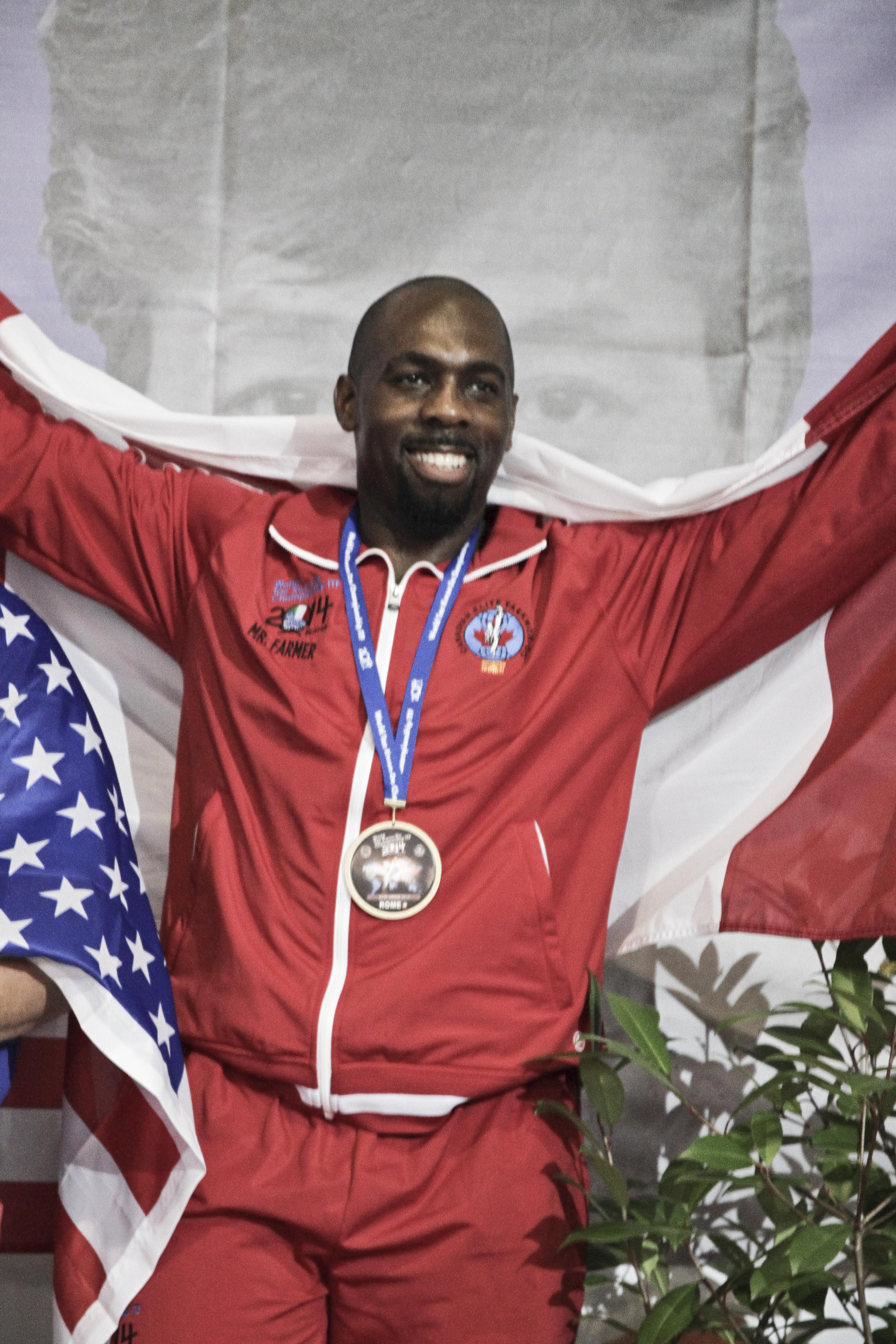 Mr. El Bey - 2 X Bronze Medalist