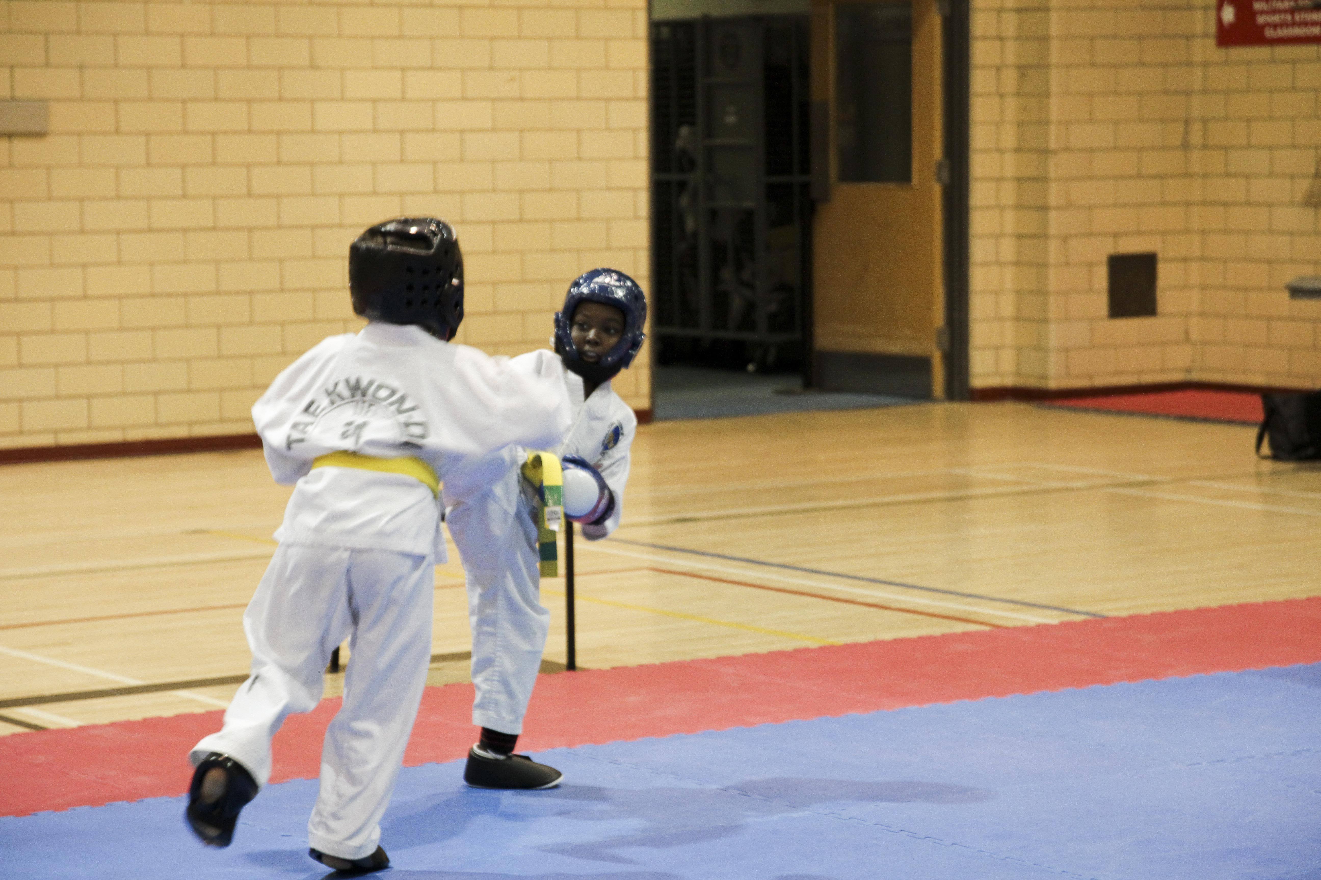 Q. Ricketts Sparring 2