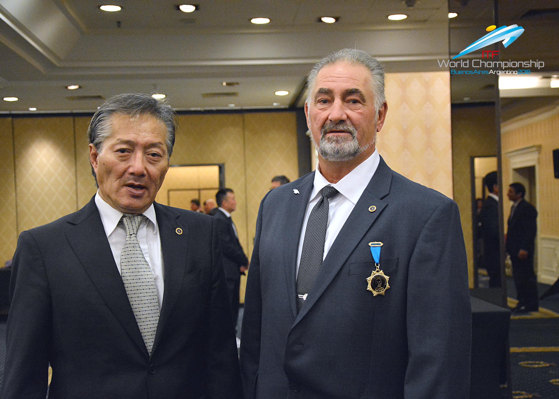 ITF Pres. Choi & INO Pres. Demers