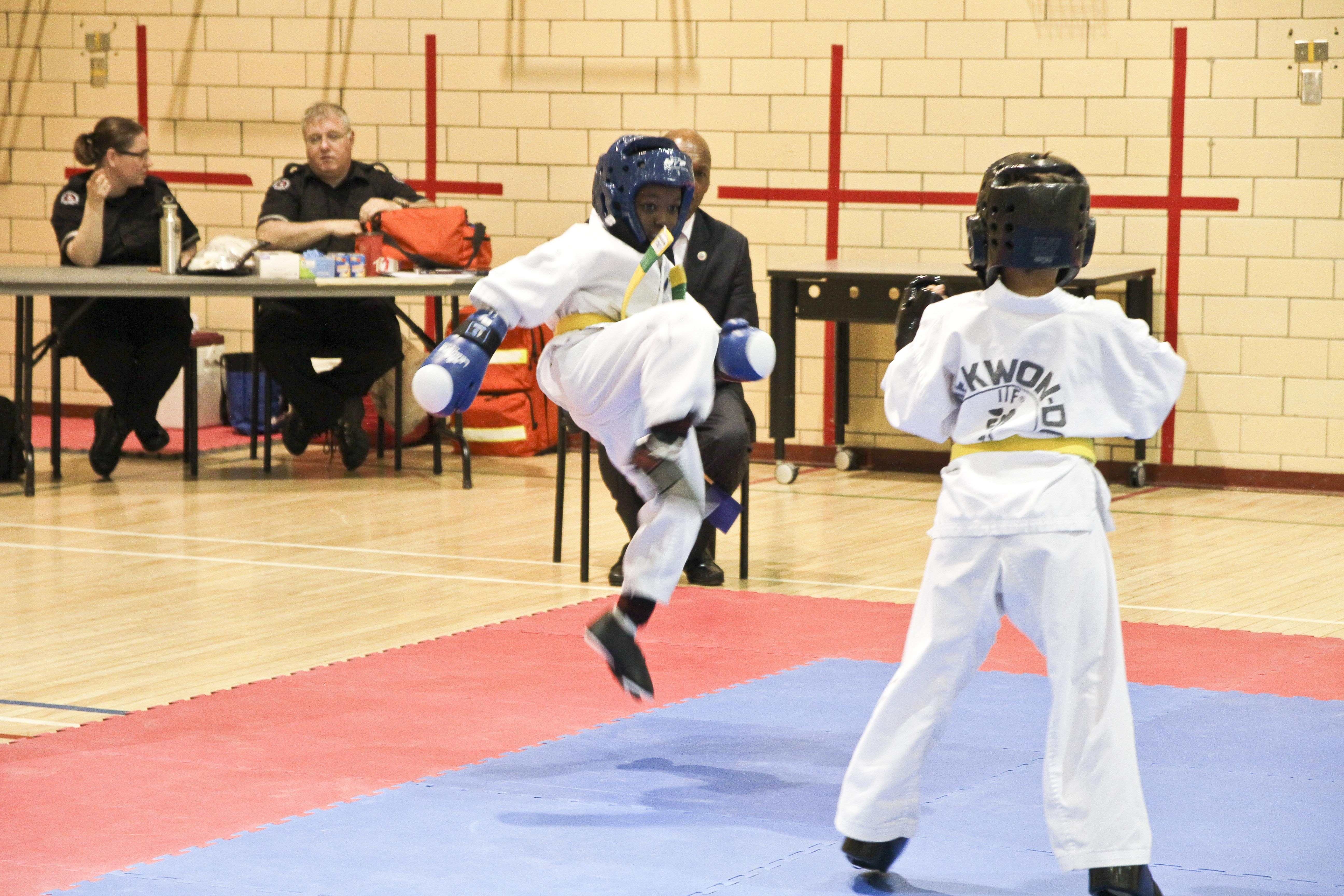 Q. Ricketts Sparring 1