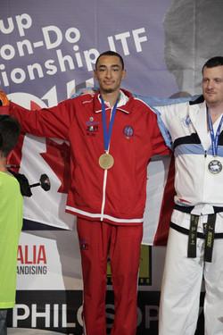 Jayvon Lake - 2 X Bronze Medalist