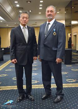 ITF Pres.Choi & INO Pres.Demers