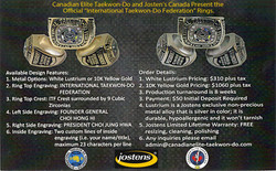 I.T.F. Ring - By C.E.T.