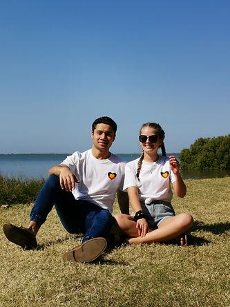 Adult. White. Small Aboriginal Love Hear