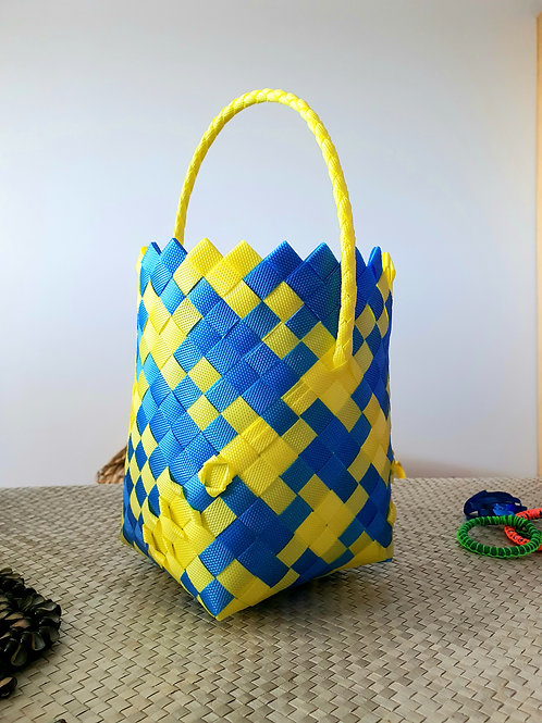 LEARN TO WEAVE A BASKET ONLINE - ANYTIME!