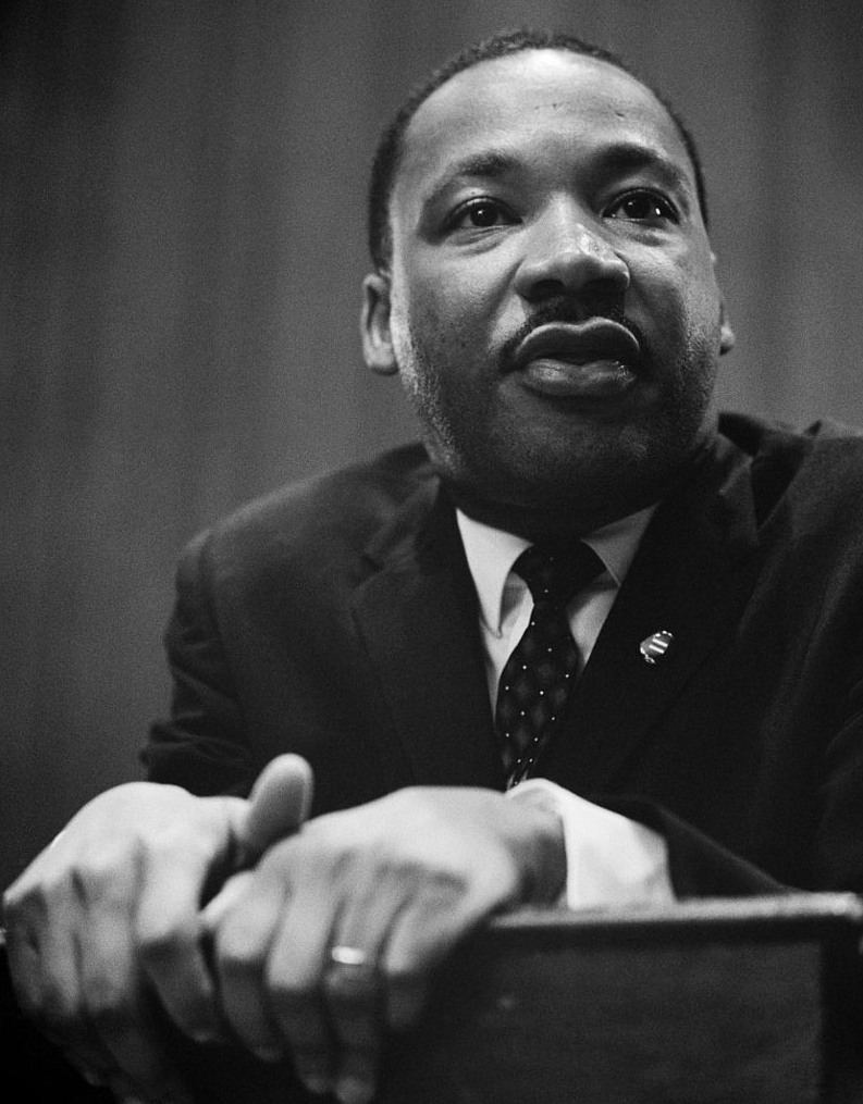 Dr Martin Luther King Jnr. 1964 Press Conference. Image: Marion S. Trikosko