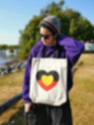 Love Heart tote