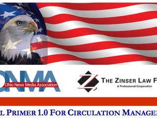 Legal Primer 1.0 for Circulation Management