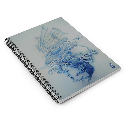 Ruled Line Spiral Notebook