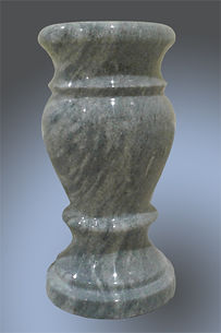 мраморная ваза на могилу
