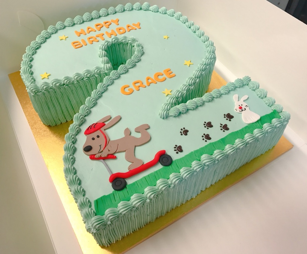 Number shaped cakes from $85