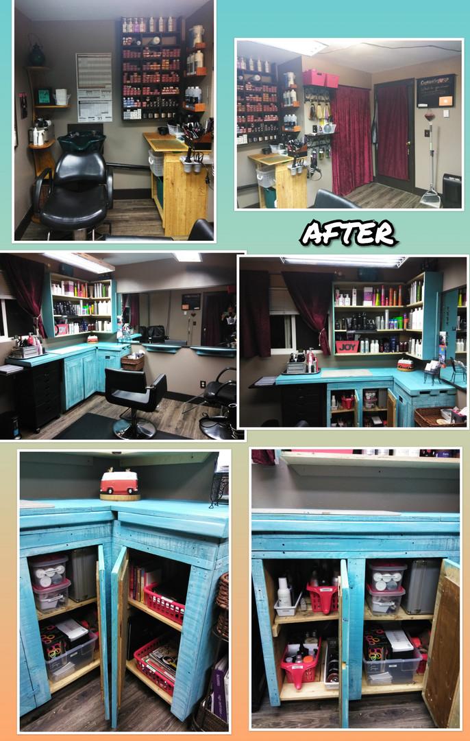A revamped Hair Salon!