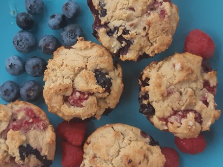 Nutrition Powerhouse Gluten-Free Berry Muffins