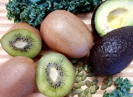 5 Green Stress-Busting Foods